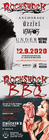 WERBUNG: ROCK SHOCK THEATRE 2020